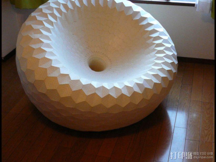 圆椅 3D模型  图2