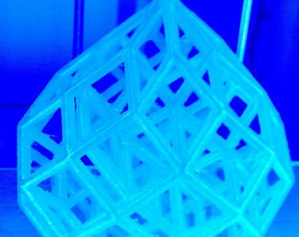 水滴形立方晶格 3D模型  图4