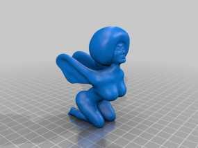 电影《黑色炸药》人偶 3D模型