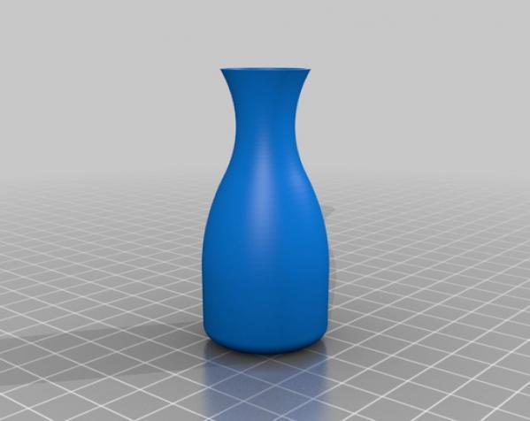 玫瑰 花瓶 3D模型  图3
