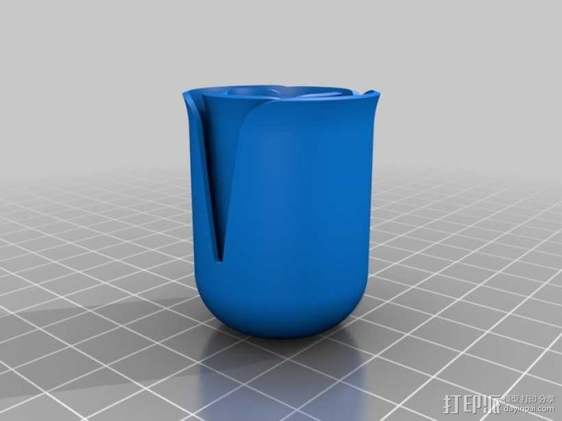 玫瑰 花瓶 3D模型  图5