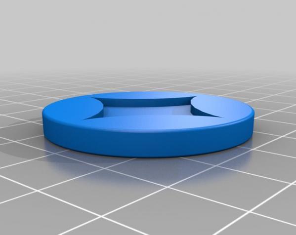 个性化圆形吊坠 3D模型  图5