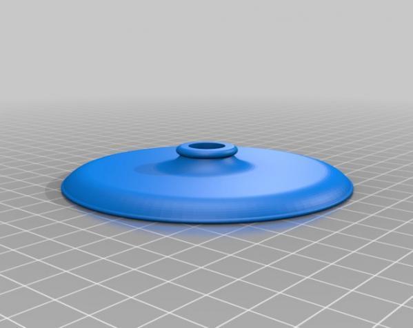 组装式迷你灯罩 3D模型  图1