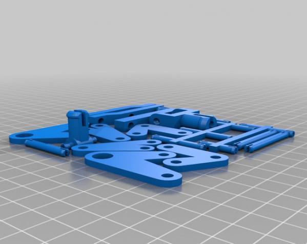组装式迷你灯罩 3D模型  图3