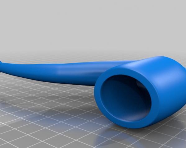 烟斗 3D模型  图3