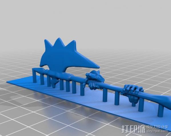 战争机器人Bane Thrall 3D模型  图7