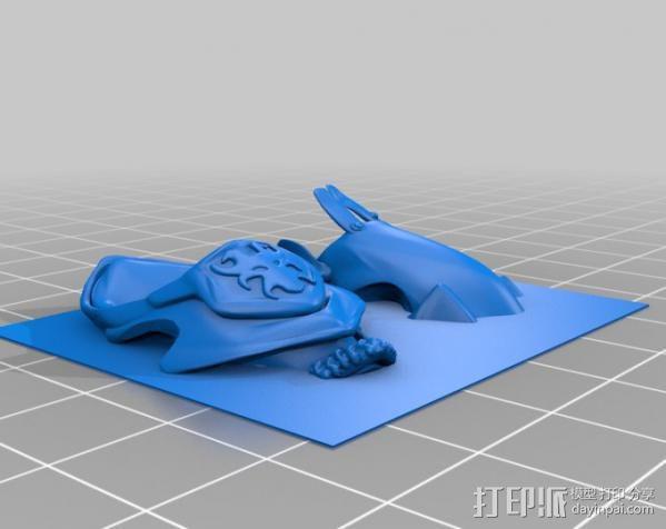 战争机器人Bane Thrall 3D模型  图8