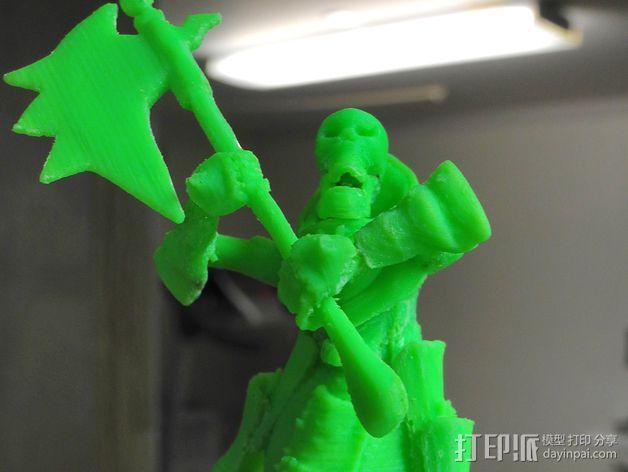 战争机器人Bane Thrall 3D模型  图10