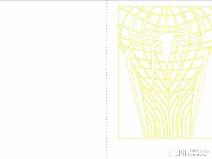 蜘蛛侠卡片 3D模型  图3