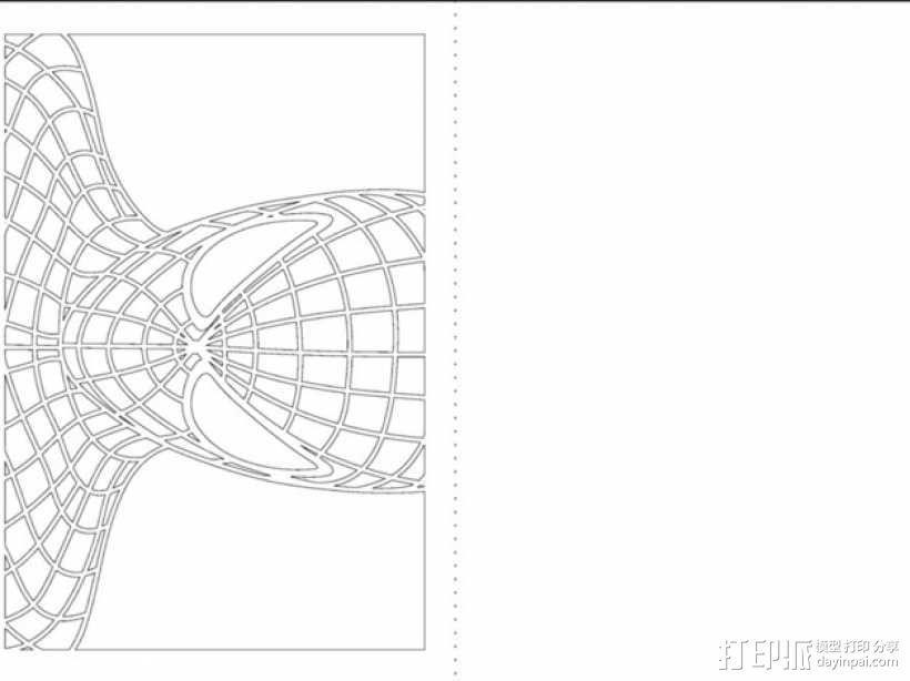 蜘蛛侠卡片 3D模型  图2