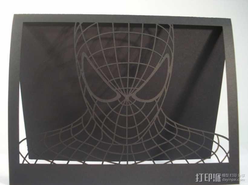 蜘蛛侠卡片 3D模型  图4