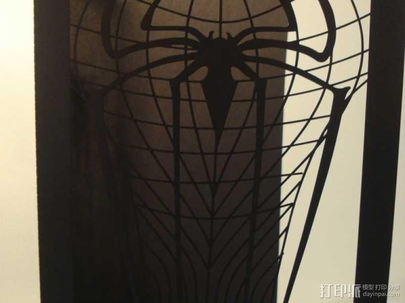 蜘蛛侠卡片 3D模型  图5