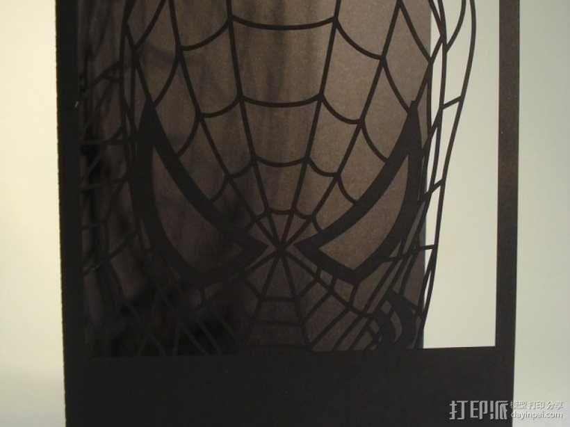 蜘蛛侠卡片 3D模型  图6