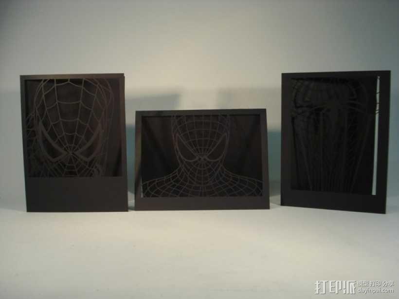 蜘蛛侠卡片 3D模型  图7