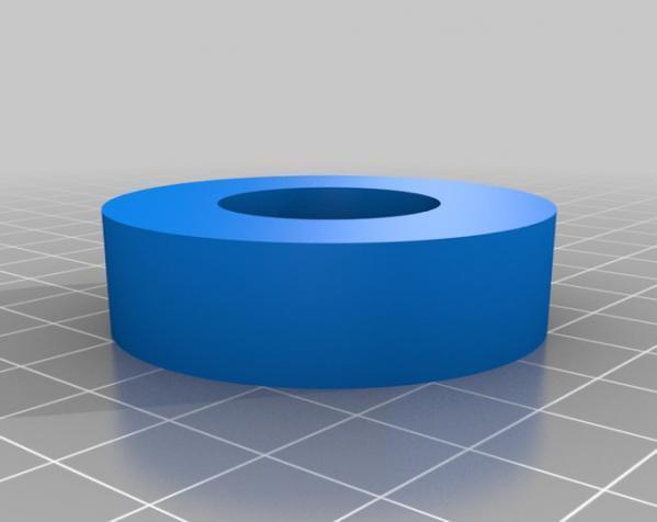 参数化线轴 3D模型  图1