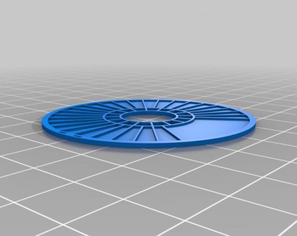 参数化线轴 3D模型  图2