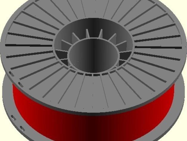 参数化线轴 3D模型  图5