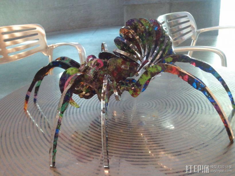 丙烯酸 蜘蛛  3D模型  图1