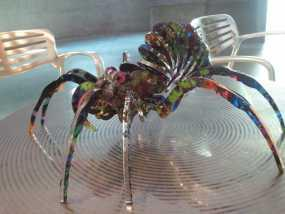 丙烯酸 蜘蛛  3D模型