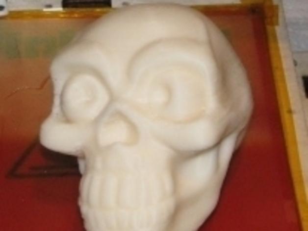 骷髅头骨 3D模型  图2
