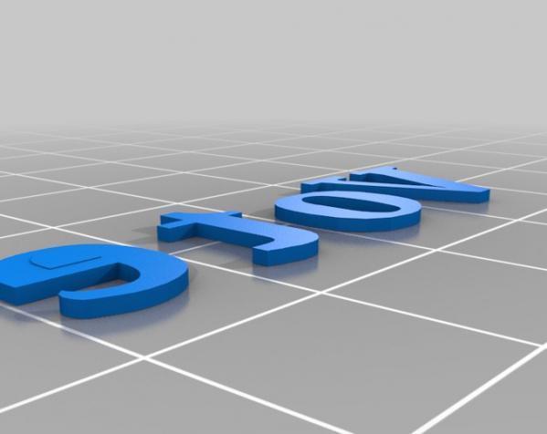 个性化徽章 3D模型  图3
