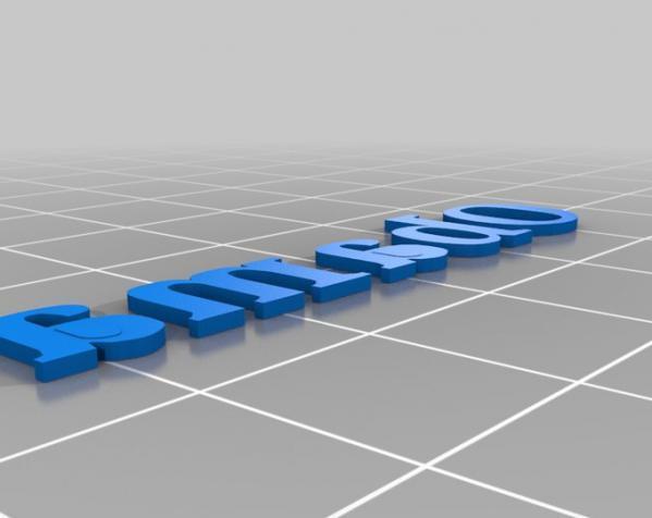 个性化徽章 3D模型  图6