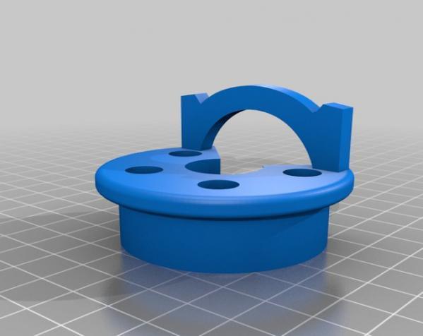 迷你字母椅 3D模型  图1