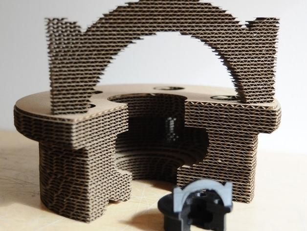 迷你字母椅 3D模型  图3