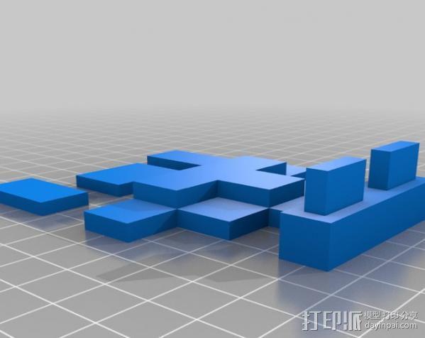 8bit 银河战士 洛克人 3D模型  图5