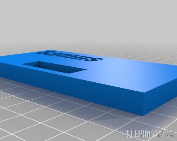 8bit 银河战士 洛克人 3D模型  图10