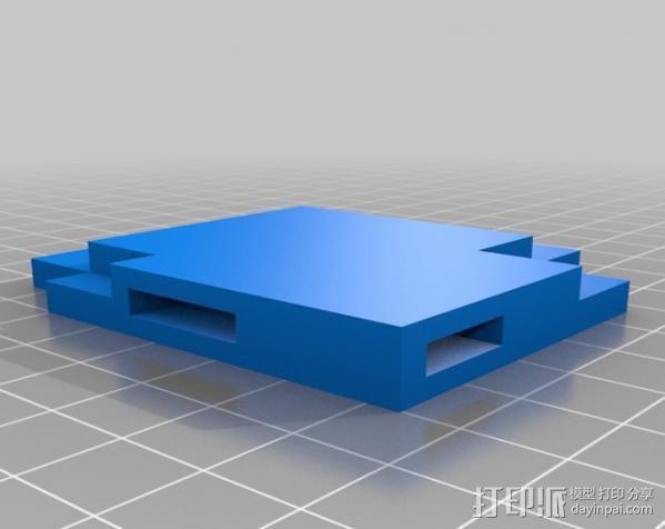 8bit 银河战士 洛克人 3D模型  图9