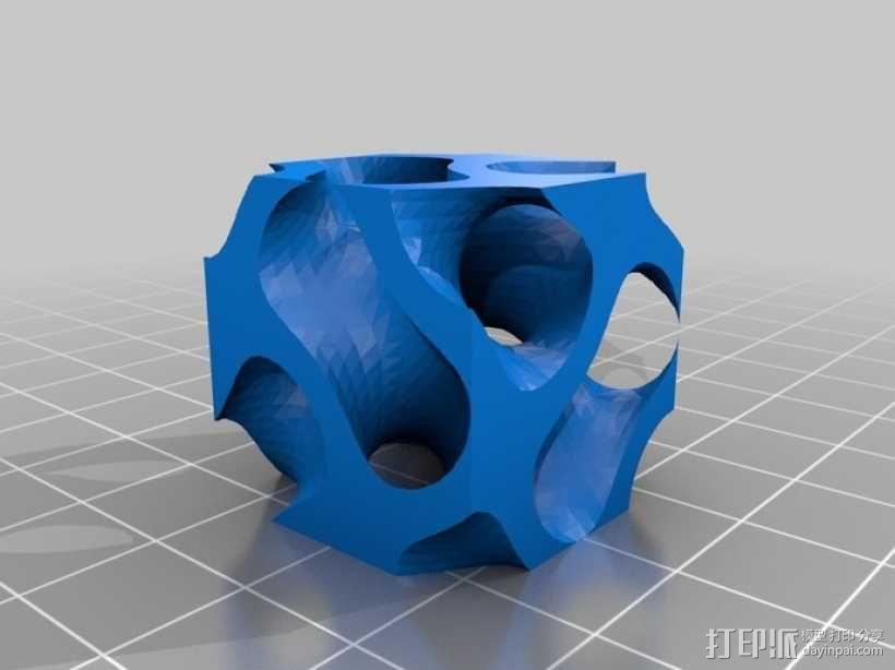 螺旋二十四面体 3D模型  图3