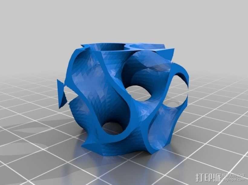 螺旋二十四面体 3D模型  图4