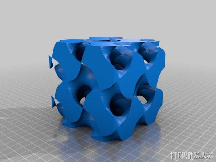 螺旋二十四面体 3D模型  图8