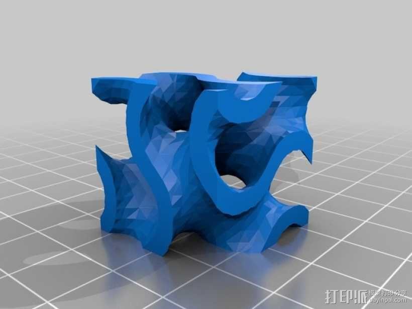 螺旋二十四面体 3D模型  图7