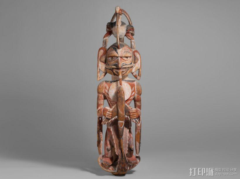 墓室雕像 3D模型  图1