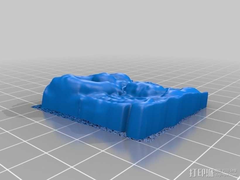 印度神明像 3D模型  图2