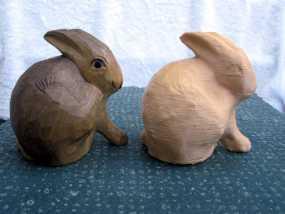 兔子雕塑 3D模型