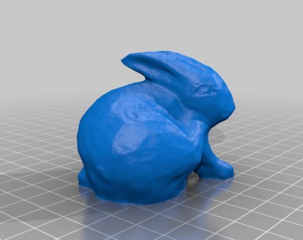 兔子雕塑 3D模型  图2
