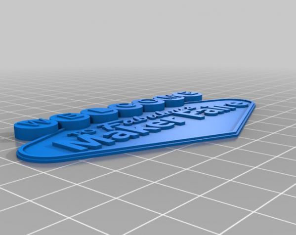 制汇节标志 3D模型  图3
