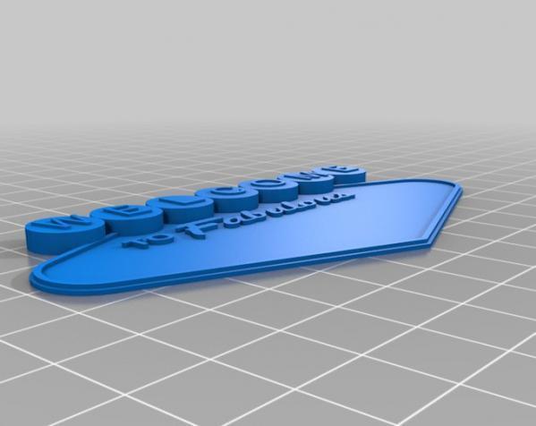 制汇节标志 3D模型  图5