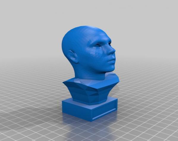 头像生成器 雕塑 3D模型  图2