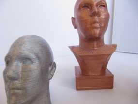 头像生成器 雕塑 3D模型