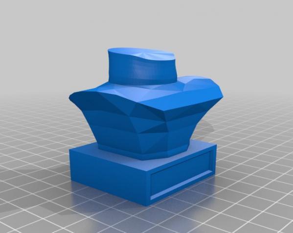 头像生成器 雕塑 3D模型  图3