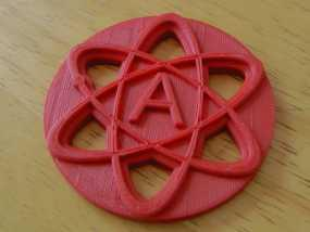 原子结构图装饰品 3D模型