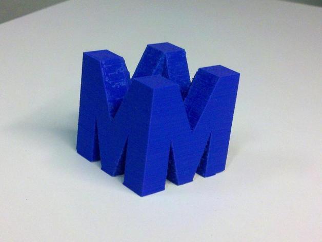 巨力集团标志 3D模型  图2