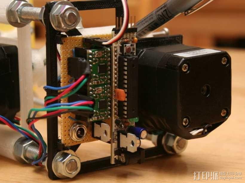 Eggbot/Spherebot底板 3D模型  图1