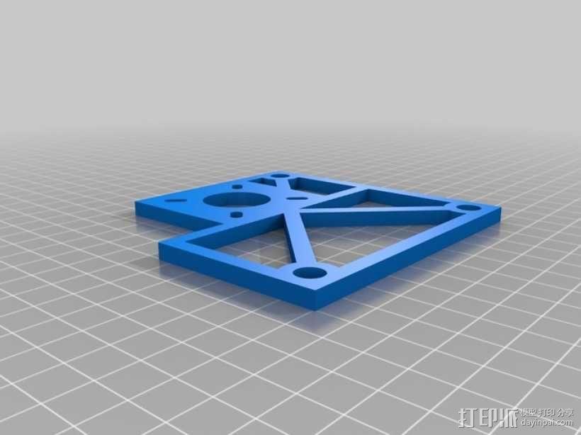 Eggbot/Spherebot底板 3D模型  图2
