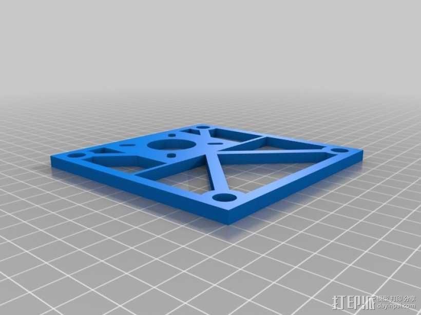 Eggbot/Spherebot底板 3D模型  图4