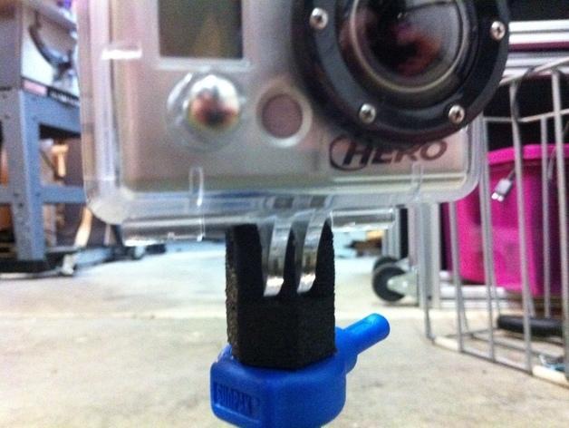 GoPro相机三角架底座 3D模型  图2